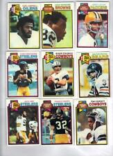 1979 Topps Football Set Almost Complete Set (525/528) NRMT