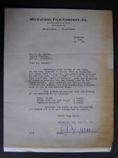 Movie Letterhead Milwaukee Film 12/2/24 Captain January Hobart Bosworth
