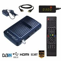 SAT FULL HD Digitaler Satelliten Receiver mit 2x USB PVR