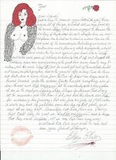 Blaze Starr great content handwritten letter John F Kennedy drawings & more Jfk!