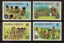 SAMOA # 383-386 MNH BOY SCOUTS