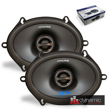 """ALPINE SPS-517 TYPE S Car Stereo 5""""x7"""" Speakers 2-Way Coaxial 230W SPS517 New"""