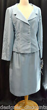 HARBOR Nites Sag Harbor Mother of the Bride skirt suit jacket beaded 12 NWT $148