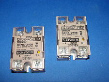 Omron G3NA-210B Solid State Relay Quantity 2