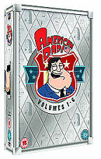 American Dad! - Series 1-6 - Complete (DVD, 2011, 18-Disc Set, Box Set)Sealed
