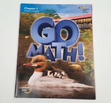 Go Math!: Student Edition Chapter 1 - Grade 2 2015 - Number Concepts - Like New
