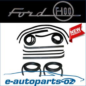 Ford F100 F250 F350 Door Window Seal Bailey Channel Weather Strip Full Set 74-80