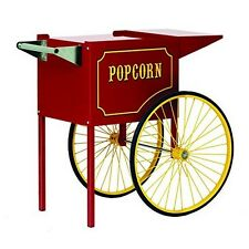 Paragon Fun 3070010 Paragon Medium Popcorn Cart for 6 and 8-Ounce Poppers (Red)