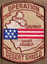US Operation Desert Shield PATCH Army/USMC/USN/USAF Persian Gulf Veterans NEW!