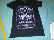 "Johnny Cash Man In Black "" Tee [ large ] * *"