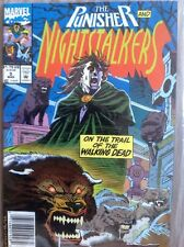 """THE PUNISHER AND NIGHTSTALKERS #5 Overstreet 9.2/NM-  1993 """"Cut to the Bone"""""""