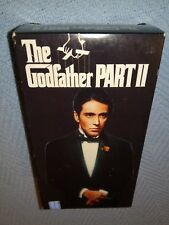 THE GODFATHER PART II, DOUBLE VHS, PLAY TESTED, AL PACINO