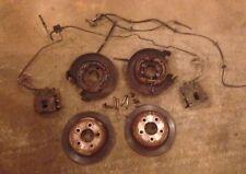 JEEP Dana 35 44 Rear Axle Drum To Disc Brake Conversion Kit Wrangler Cherokee
