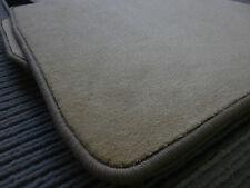 Lengenfelder Fußmatten passend für Porsche Cayenne II + Beige + RUTSCHFEST+ NEU