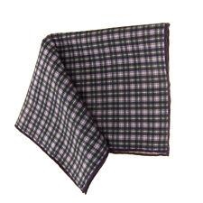 RRP €125 BRUNELLO CUCINELLI Pocket Square Handkerchief Silk Blend Made in Italy