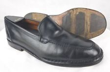 "ALLEN EDMONDS ""Canelli"" Men's Black Leather Loafers Italy Model 48570 Size 8 E"