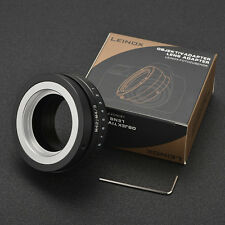 LEINOX M42-M4/3 Adapter Tilt for M42 Lens to Micro 4/3 M43 E-P1 E-PL2 GH3 GH4