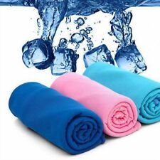 UK! Instant Cooling Towel ICE Cold Golf Cycling Jogging Gym Sports Outdoor TOWEL