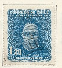 Chile 1931-34 Early Issue Fine Used 1.20P. 089759