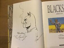 Blacksad Amarillo EO + dedicace Guarnido & Canales + Serigraphie signé