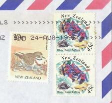 Machine Cancel Independent Nation New Zealand Stamps