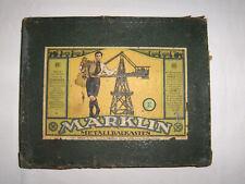Märklin-Metallbaukasten (Nr. 3) von Ende der zwanziger Jahre