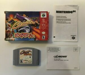 Cruis'n Exotica (Nintendo 64 N64, 2000) Midway - BOX, GAME & INSERTS - NO MANUAL
