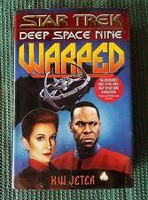 Star Trek Deep Space Nine: Warped by K. W. Jeter (1995, Hardcover)