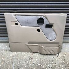 LAND ROVER DISCOVERY 1996 Tdi TAN DOOR CARD NEAR SIDE FRONT,SPEAKER CUT OUT
