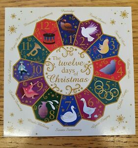 St Ann's Hospice Christmas Cards 'Twelve Days of Christmas' Pack of 10 Cards