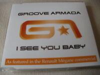 GROOVE ARMADA - I SEE YOU BABY - UK CD SINGLE