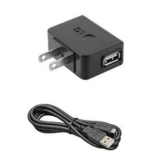 USB OEM Home Charger Cable Power Adapter Cord Wall AC Plug for ATT & Verizon