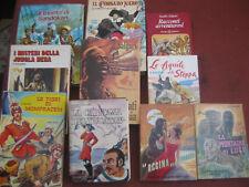 LOTTO STOCK 10 libri Emilio Salgari  misto