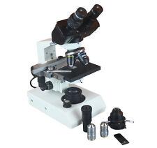 40-2000x Professional Binocular Vet Sperm Medical Microscope w Phase Contrast
