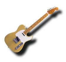 SX VET50BSB Vintage Series Tele Style Electric Guitar Butterscotch & Bag