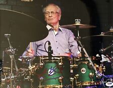Ginger Baker signed big photo cream blind faith drums 11x14 inch psa dna coa