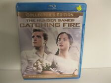 THE HUNGER GAMES: Catching Fire bluray movie