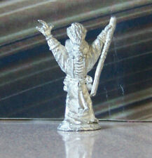 Rare Mini Vintage Dungeons & Dragons Metal Miniature D&D Wizard Raising Arms