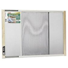 Frost King WB Marvin AWS1837 Adjustable Window Screen 18in High x Fits 21-37in