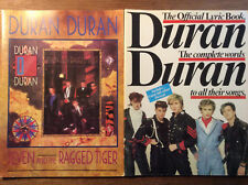 Duran Duran [ 2 Hefte ] Official Lyric Book + Seven and the Ragged Tiger Chords