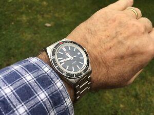 Swiss made Maen Hudson Automatic Dive Watch 38 mm ETA 2824 - Wonderful!