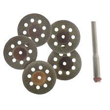 Punta di diamante e ventilato Mini Dischi Taglio Rotante Tagliato Disco per Dremel 5pc