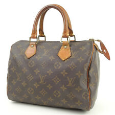 Authentic Louis Vuitton Monogram Speedy 25 Hand Bag Boston Bag M41528 Used F/S
