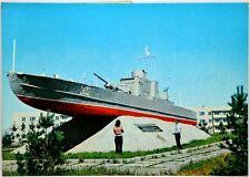 Cartolina Marina - Monumento Nave Russa - Viaggiata