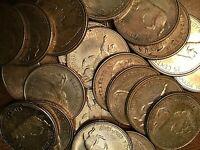 1967 CANADA SILVER 25 CENTS COIN LYNX - 1 coin per quantity