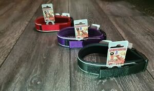 EzyDog Neo Classic Dog Collar Quick Dry- 3 Sizes S, M and L - Black, Red, Purple