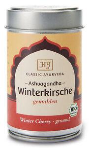 Bio Ashvagandha Churna (Winterkirsche), 50 g NEU & OVP von Classic Ayurveda