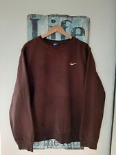 Vintage Nike Retro Sweater Ladies Men L Logo Spell Out Jumper Well Worn