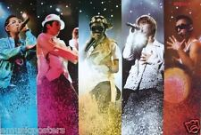 "BIG BANG ""5 COLORFUL SHOTS"" ASIAN POSTER - Korean Boy Band, K-Pop, Hip-Hop Music"