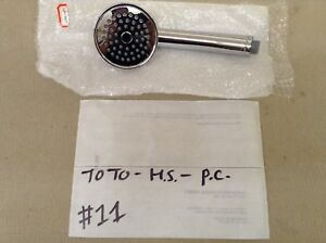 TOTO TRADITIONAL HANDSHOWER ONLY, POLISHED CHROME , #11